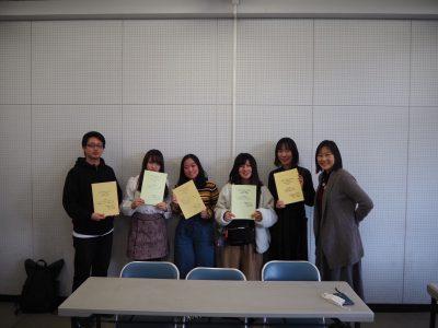 ポピュラー文化研究ゼミ(ぽぷゼミ)卒論発表会終了しました